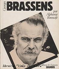 Georges Brassens par Alphonse Bonnafé