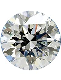 RINGJEWEL 4.90 ct 11.30 MM VVS1 Round Cut Loose Moissanite Use 4 Pendant/Ring Genuine White H-I Color
