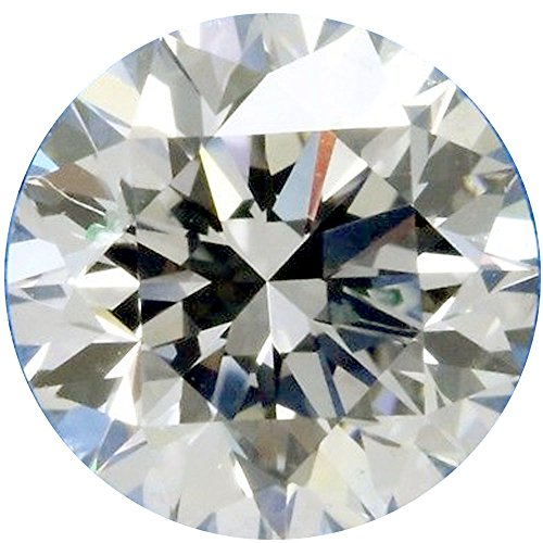 RINGJEWEL 3.72 ct 10.10 MM VVS1 Round Cut Loose Real Moissanite Use 4 Pendant/Ring Genuine White H-I Color Stone