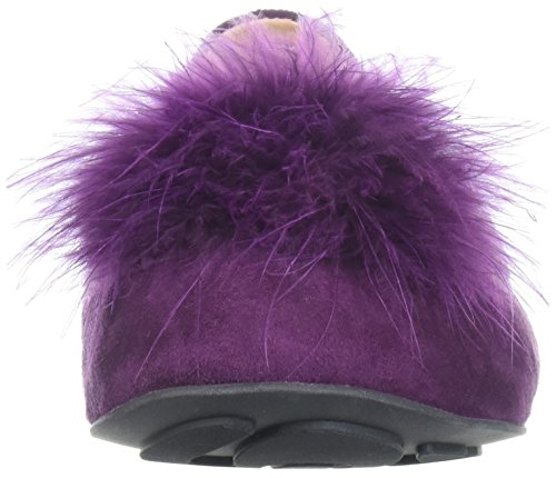 Gentle Pom Women's Feather Souls Flat Ballet Egglplant Portia rI8rO