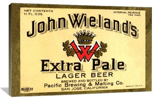 John Wieland's Extra Pale Lager Beer 48