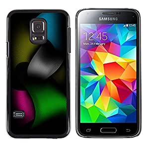 Shell-Star Arte & diseño plástico duro Fundas Cover Cubre Hard Case Cover para Samsung Galaxy S5 Mini / Galaxy S5 Mini Duos / SM-G800 !!!NOT S5 REGULAR! ( Color Tones )