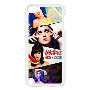 Popular Singer Katy Perry Hard Plastic Back Protective Case for Ipod Touch 5 FC-7