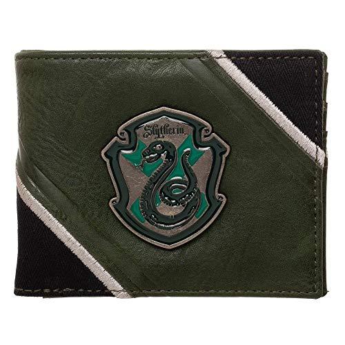 Harry Potter Slytherin Metal Badge Crest Bifold ()