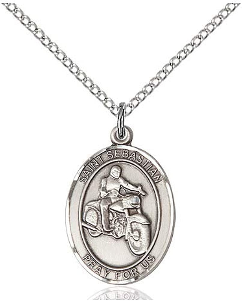Bruno Pendant TONYS JEWELRY CO Sterling Silver St