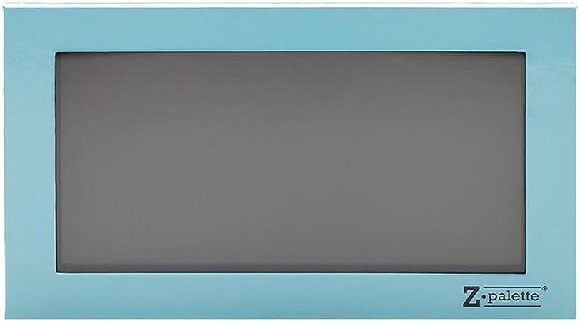 Z Palette - Estuche vacio para maquillaje con imanes - Tamaño grande, Color azul cielo: Amazon.es: Belleza