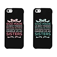 Cute BFF Phone Cases God Made Us Best Friends Phone Covers for iphone 4, iphone 5, Case Cover For Ipod Touch 5 iphone 6, Case Cover For Ipod Touch 5 Galaxy S3, Galaxy S4, Galaxy S5, HTC M8, LG G3