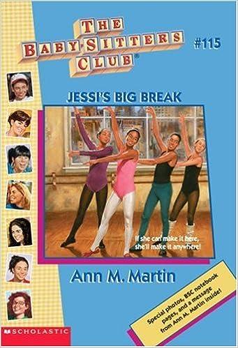Book Jessi's Big Break (Baby-Sitters Club)