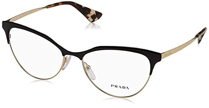 3b62073e72f2 Prada Women's PR 55SV Eyeglasses 54mm at Amazon Women's Clothing store: