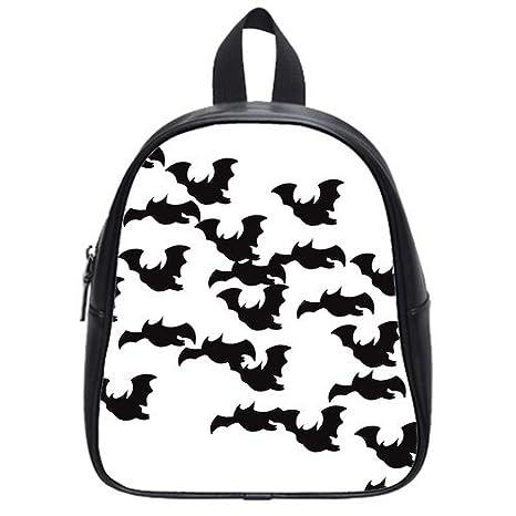 RAROFU único bate diseño Simple tamaño S mochila mochila escolar Satchel: Amazon.es: Deportes y aire libre