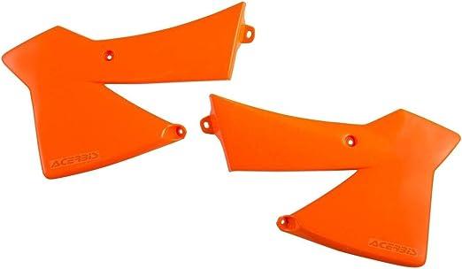 Acerbis K/ühlerspoiler Orange