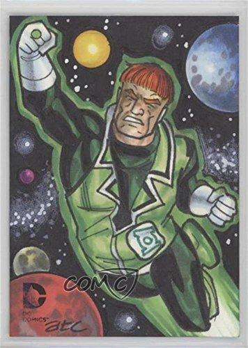 Dc Bead - Guy Gardner #1/1 (Trading Card) 2014 Cryptozoic DC Epic Battles - Sketch Cards #BEAD