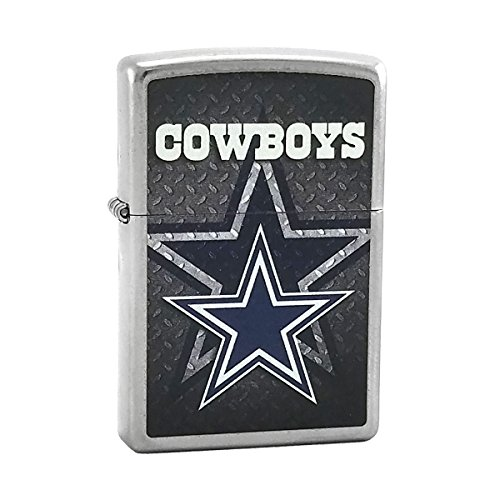Custom Style Personalized Zippo Lighter NFL - Free Laser Engraving (Cowboys)