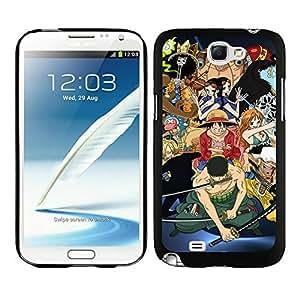 Fashionable One Piece 34 Black Samsung Galaxy Note 2 Case wangjiang maoyi