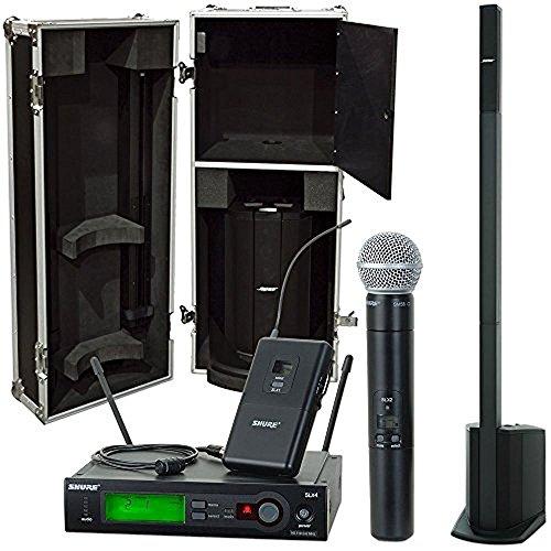 Bose L1 Compact w/ Case & Shure SLX SM58 & Lav (Compact Slx)