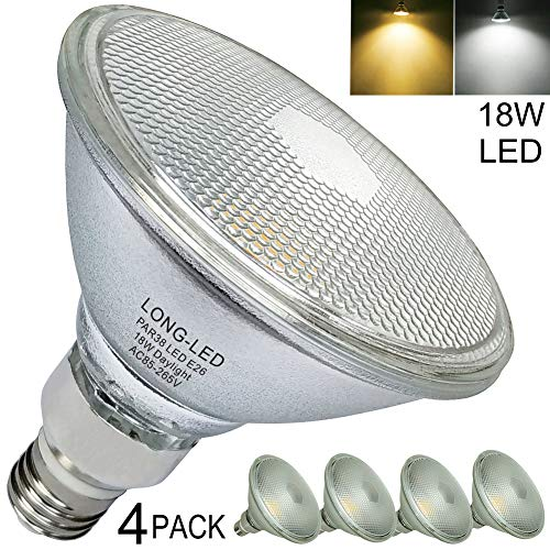 Par38 18W Led Outdoor Flood Light Bulb White