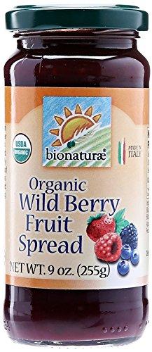 Bionaturae, Organic Wildberry Fruit Spread, 9 oz