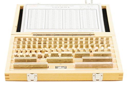 Grade 2, 87 PC Metric Gauge Block Set 303-5315 M