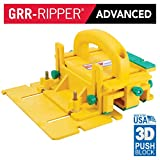 GRR-RIPPER Advanced 3D Pushblock for Table Saw, Router Table, Jointer, and Band Saw by MICROJIG