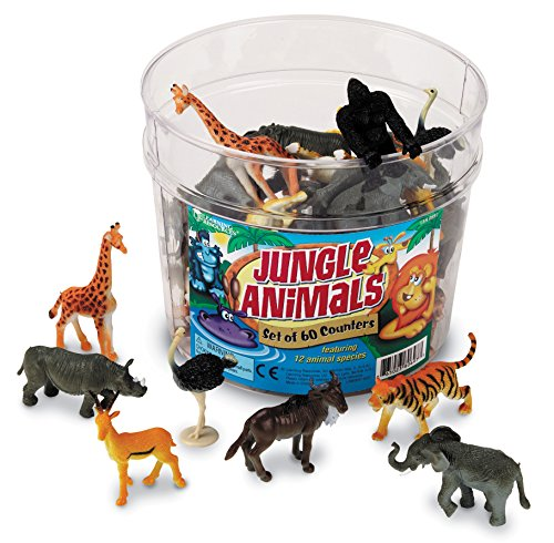 Learning Resources Jungle Animal Counters  Set Of 60