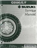 99500-34094-03E 1989-2006 Suzuki GS500 Service Manual