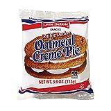 Little Debbie Vending Double Decker Oatmeal Creme Pie - 54 per case.