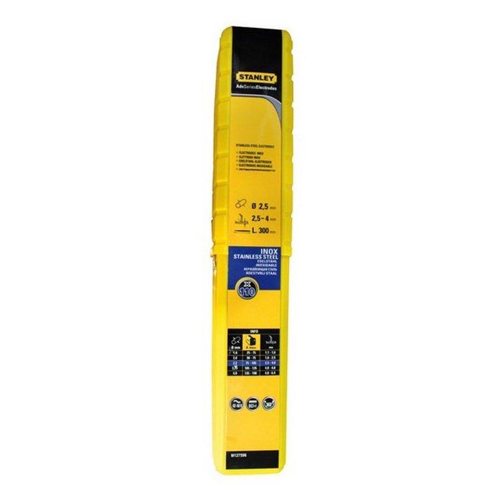 Stanley ST-90701 - Caja de electrodos acero inoxidable 2, 5x300. 110 uds.