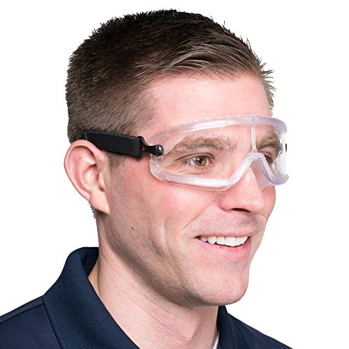 General Purpose Dust / Splash Safety Goggles Heavy Duty Industrial strength | Personal Protective Eye Safety Equipment Meets ANSI Z87.1 Standards | For construction & Home Projects (Unisex, - Of Purpose Lenses Polarized