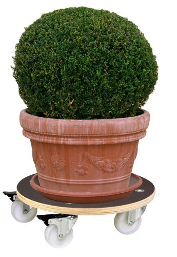 Wagner System 20110701 Multi-Roller Maxigrip Gardening Wagon, Dark Brown