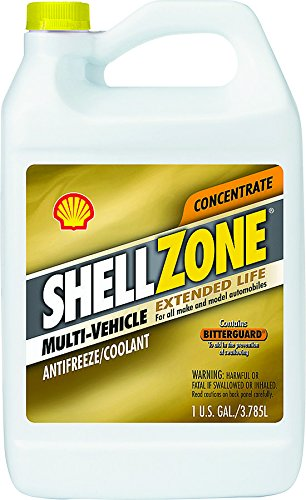 Pennzoil Shell Zone 5066315 Extended Life Anti-Freeze Coolant, 1 gal, Liquid