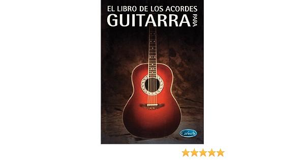 El Libro de los Acordes para Guitarra: Amazon.es ...