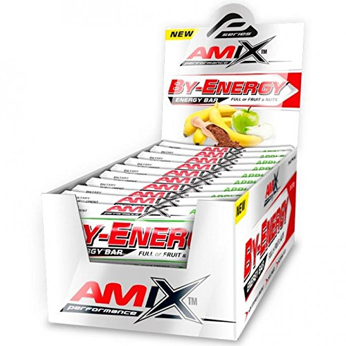 Amix Performance By-Energy bars 20 unid. x 50 gr Cacao