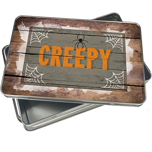 (NEONBLOND Cookie Box Creepy Halloween Spider Webs Christmas Metal)