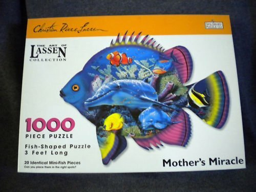 Mothers Miracle Fish Shaped Puzzle