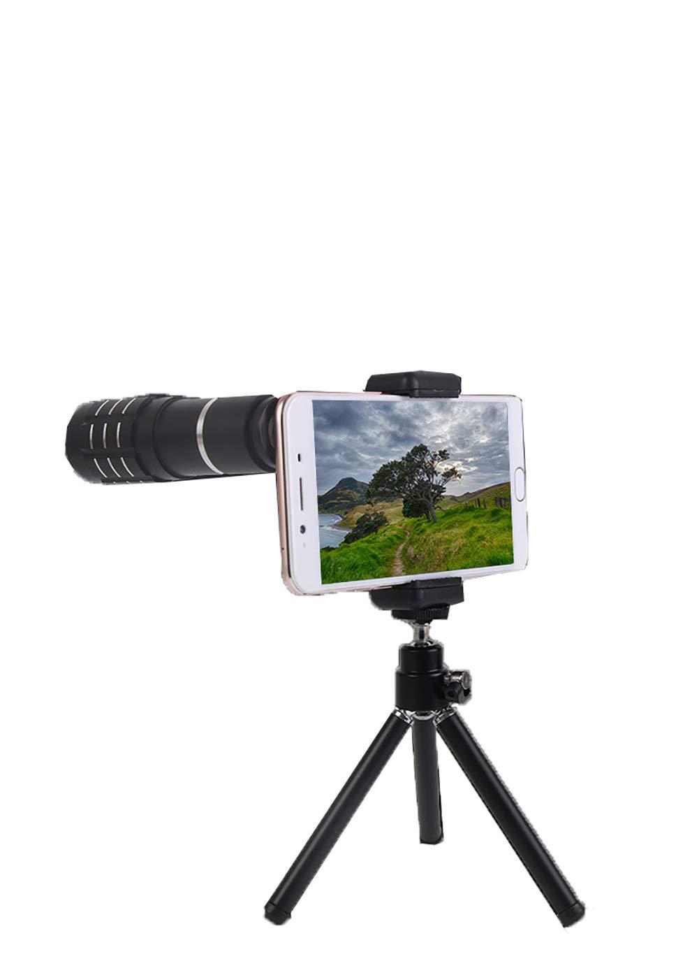 携帯電話カメラレンズキット 12倍HD望遠鏡ヘッド 4K 4K HD携帯電話レンズ 携帯電話クリップ付き B07GLKVN15 三脚付き 三脚付き B07GLKVN15, ワクイショップ:8bb61382 --- ijpba.info