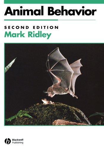 """""""Animal Behaviour - A Concise Introduction"""" av Mark Ridley"""