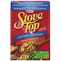 Stove Top Stuffing Mix, Low Sodium Chicken, 120G
