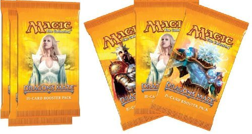 Magic the Gathering Dragon's Maze LOT of 6 Booster Packs