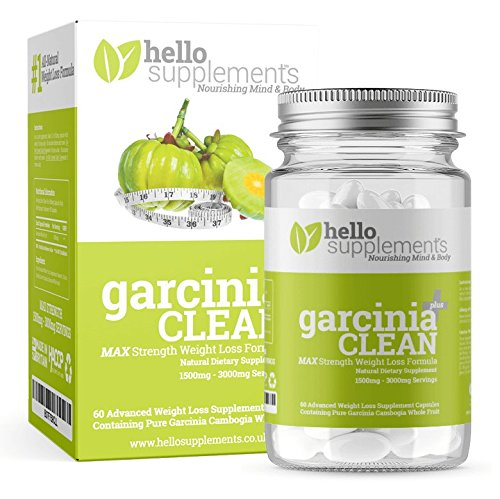 GARCINIA CAMBOGIA - #1 Garcinia Clean Plus for Extreme Weight Loss | 60 x...