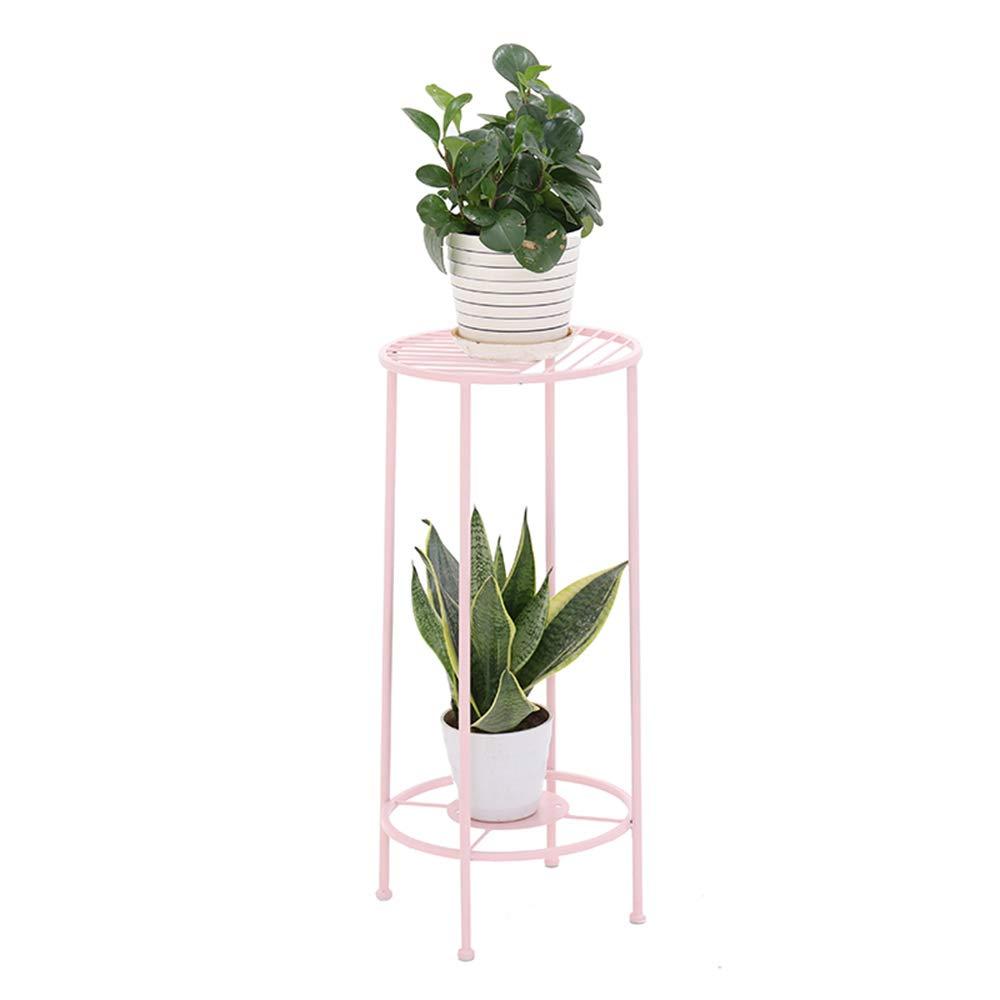 Ferro battuto Dorato Mini Pavimento Pot Rack Soggiorno Balcone Coperta Fiore Stand più Carne verde loll Semplice Fiore Stand,rosa