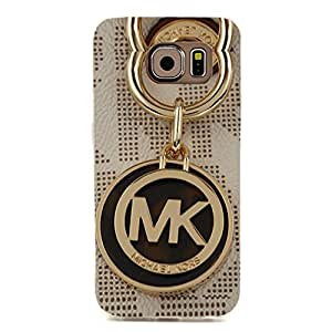 Michael Kors Logo Phone Case 3D Beautiful Design Phone Case Snap on Samsung Galaxy S6 Edge Luxury MK Logo