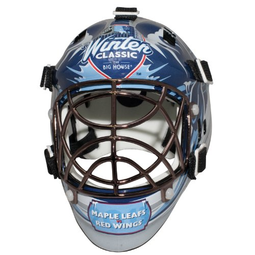 Franklin Sports 2014 Winter Classic Mini Goalie Mask - NHL - Mini Hockey Goalie Mask
