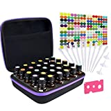 Tuzazo Hard Shell Essential Oil Carrying Case with