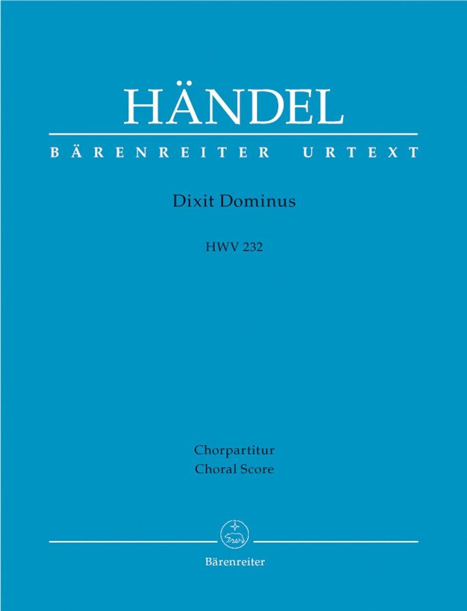 Dixit Dominus HWV 232. Chorpartitur: Amazon.es: Georg Friedrich Händel: Libros en idiomas extranjeros