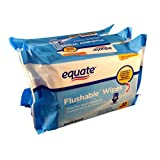 Fresh Scent Flushable Wipes, 48 sheets (Pack of 3) by Equate