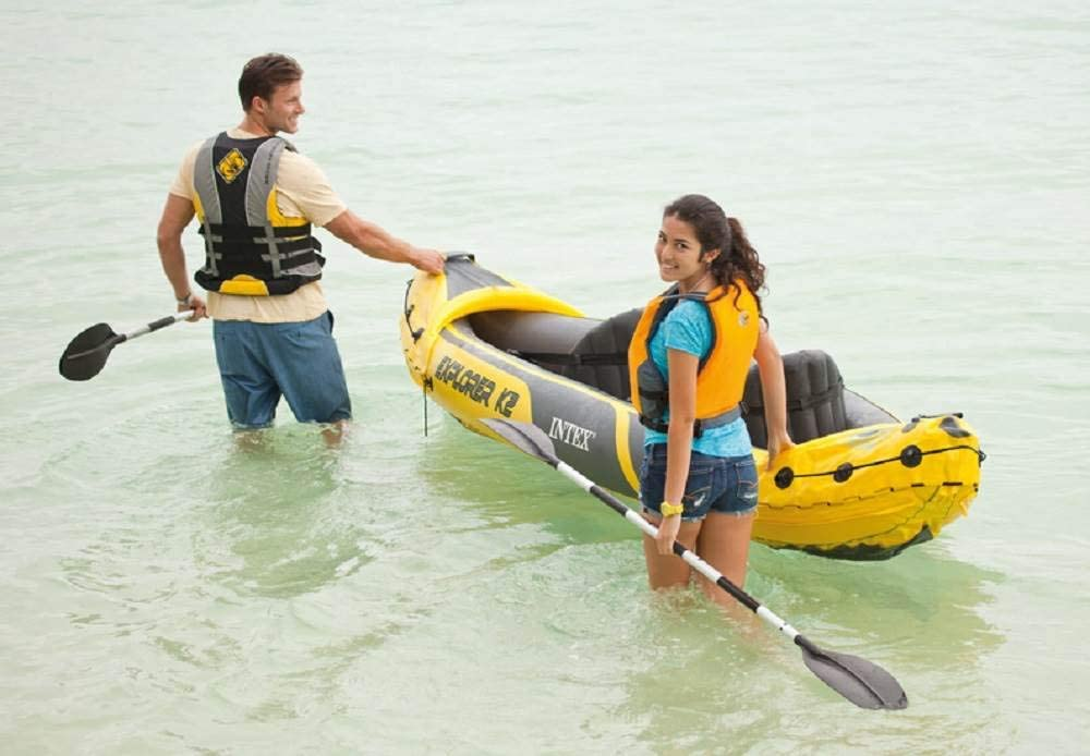 Amazon.com: Intex Explorer K2 - Kayak hinchable para 2 ...