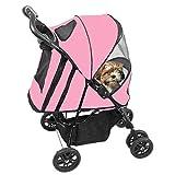 Pet Gear Pg Happy Trails Plus Stroller - Pink