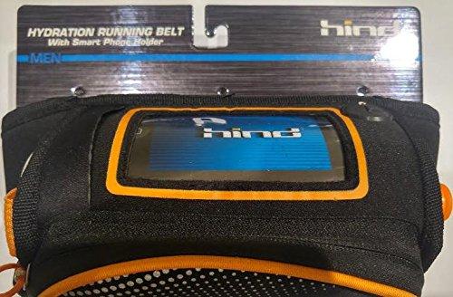 Running水和ベルトwith Water Bottle ( 22oz BPAフリー) Fits Most Cell Phones、ランナー、ハイキング、スポーツ、ジム、調整可能なウエスト   B01BXGCLYW