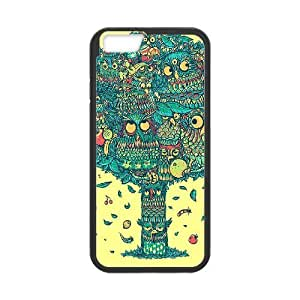 """Lovely Owl Custom Phone Case for iPhone6 Plus 5.5"""",personalized Lovely Owl Case"""