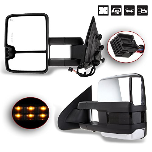 2015 chevy 2500hd towing mirrors - 2